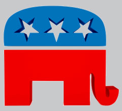 Republican Party Icon